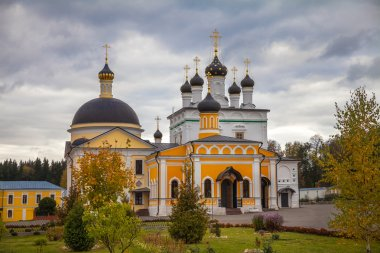 Ascension of David desert. Male monastery. Russia. Moscow region