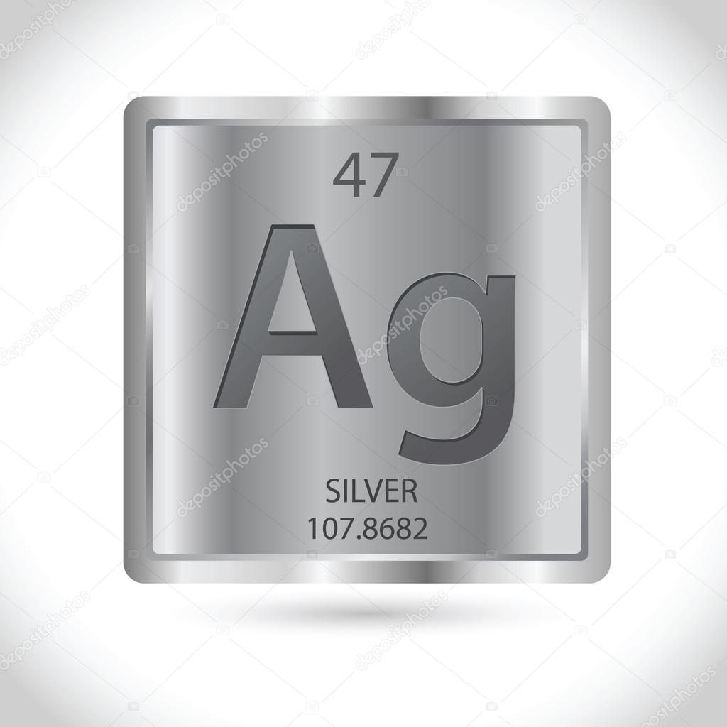 Silver chemical symbol square icon stock vector yusakp 108182602 silver chemical symbol square icon stock vector buycottarizona