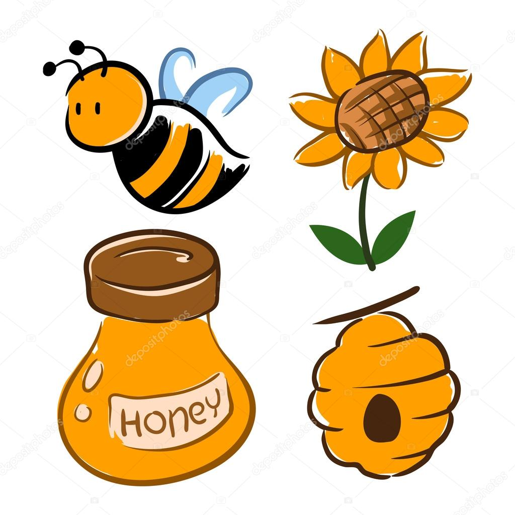 Bumble bee and honey related symbol stock vector yusakp 85052570 bumble bee and honey related symbol stock vector biocorpaavc