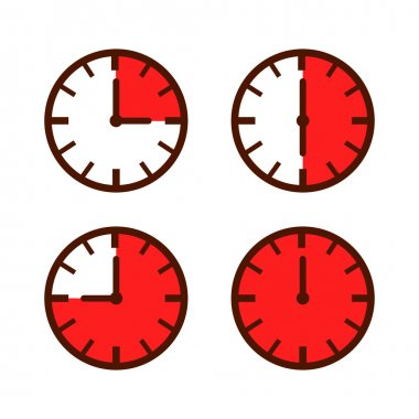 Watch Time Laps Simple Icon