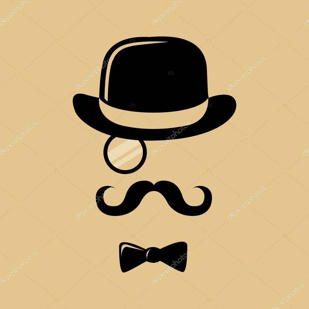 u65f6 u9ae6 u4e0e u80e1 u5b50 u793c u5e3d u548c u9886 u7ed3 u526a u5f71  u56fe u5e93 u77e2 u91cf u56fe u50cf u00a9 yusak p 86582366 mustache clip art free download mustache clip art