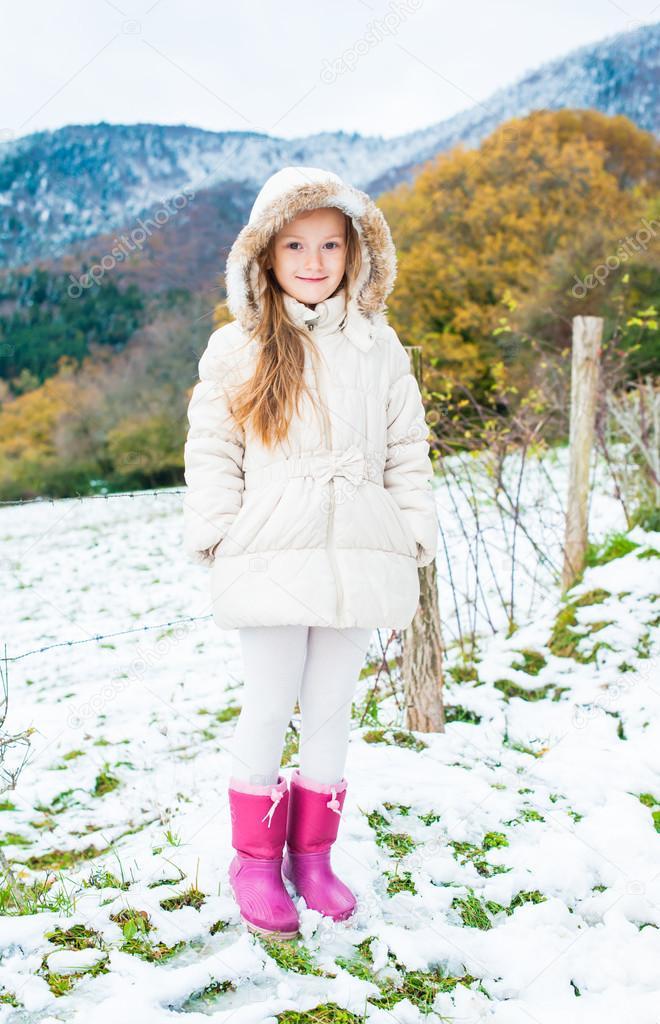 Veste d'hiver petite fille