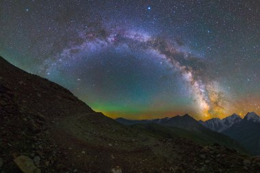 Milky Way over Mount