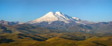 Panoram of Mount Elbrus
