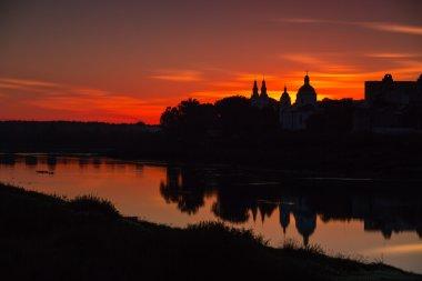 silhouettes of old Polatsk