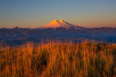 Mount Elbrus in morning
