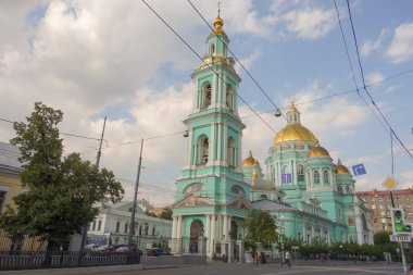 Epiphany Cathedral at Yelokhovo in Moscow