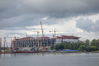 Zenit Stadium in Saint Petersburg Russia