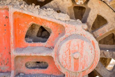 Background. Conceptual photo of building materials