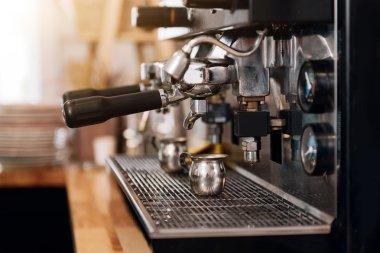 Modern cafe business
