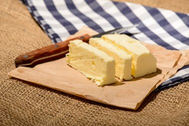 Closeup image of a delicious butter