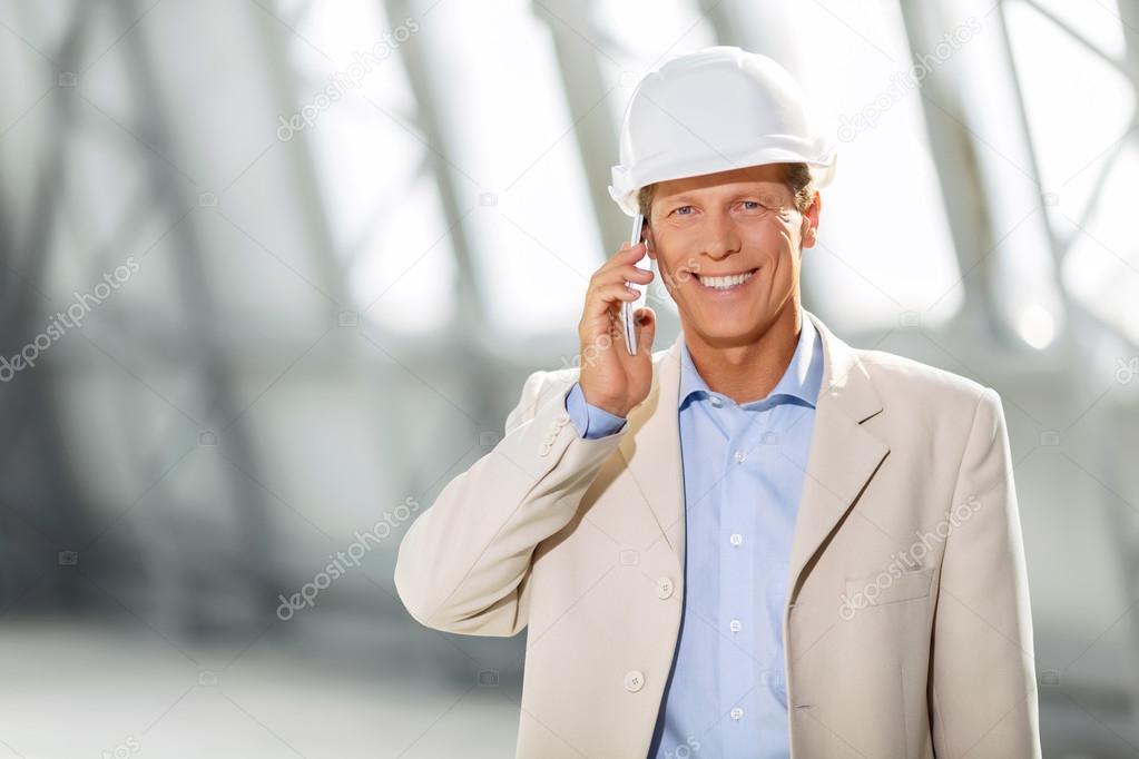 professional architect involved in work ストック写真 dmyrto z