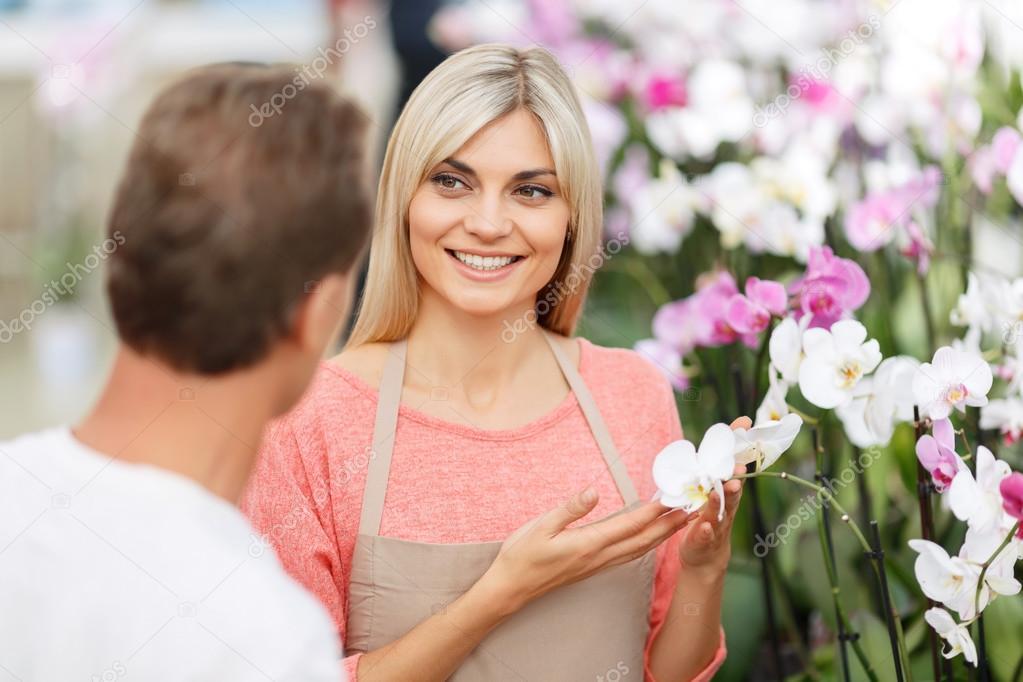 Blumen Verkaufen