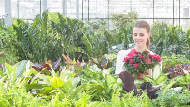 Florists love the plants they take care of.