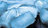 Photo Ice cubes close up