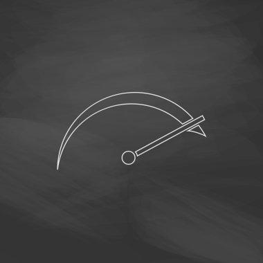 tachometer computer symbol
