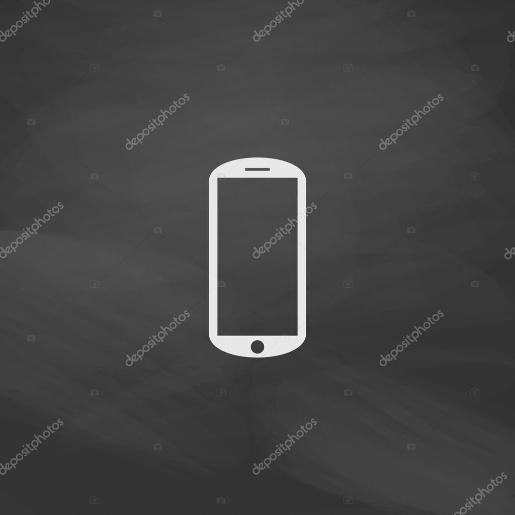 Mobile Computer Symbol Stock Vector Burntime555 121968370