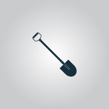 Shovel - Vector icon