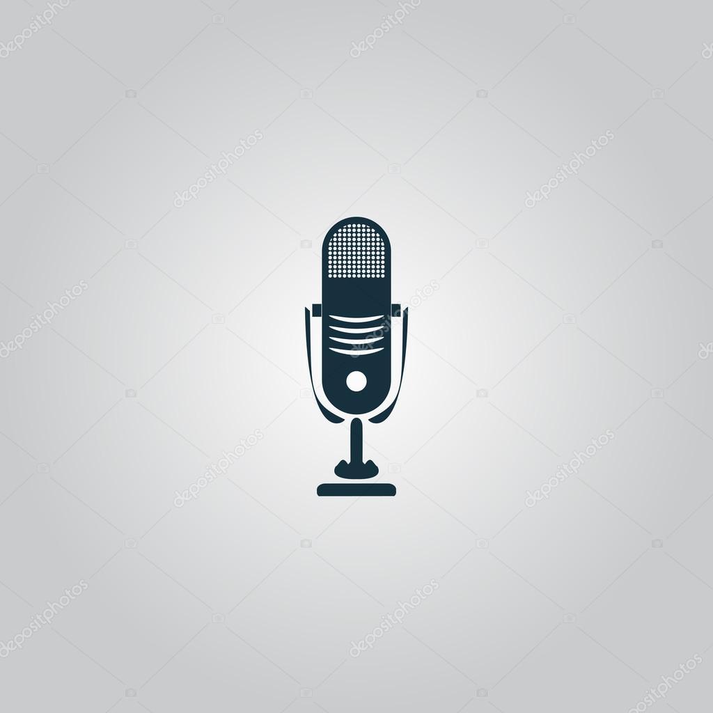 Simple retro microphone