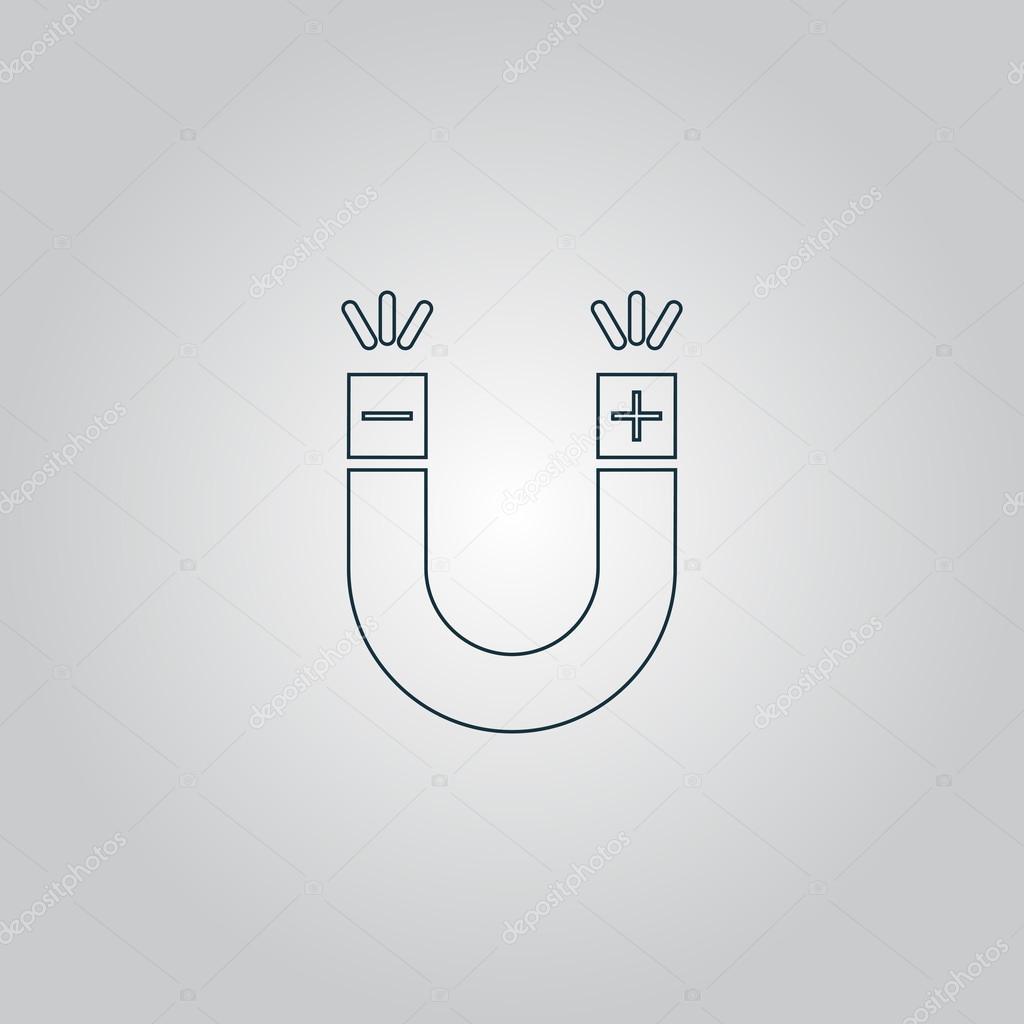 Magnet Symbol — Stock Vector © burntime555 #79983338
