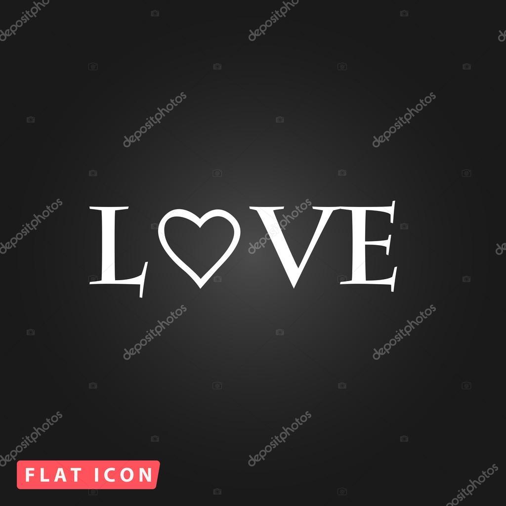 Amore Del Testo Stilizzato Vettoriali Stock Burntime555 98562174