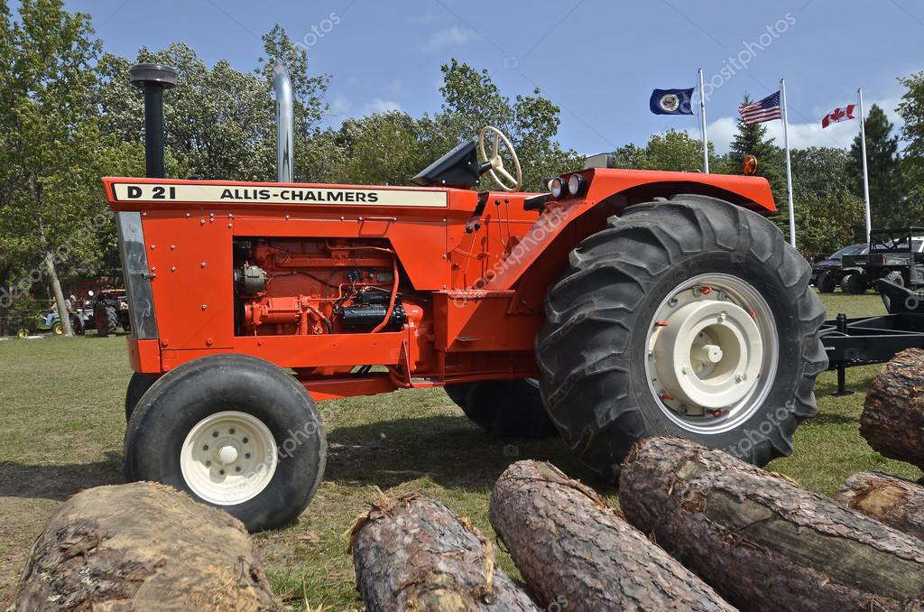 Allis Chalmers D 19 Tractor Stock Photo