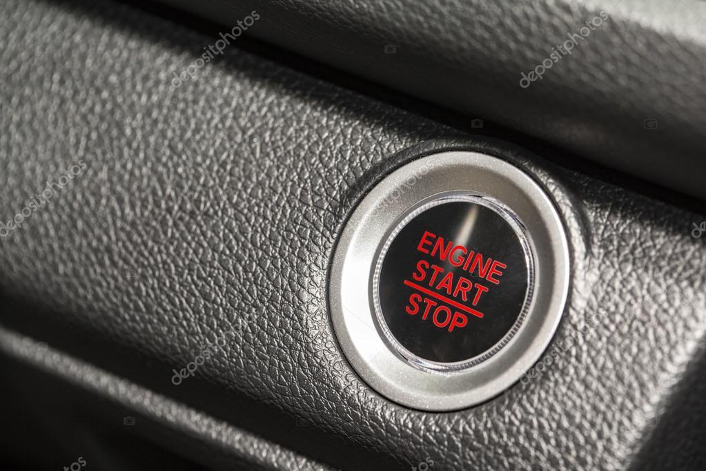 push button start car stock photo bylove 104709136. Black Bedroom Furniture Sets. Home Design Ideas