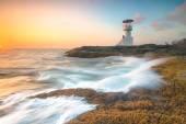 Fényképek Világítótorony tengeri naplemente