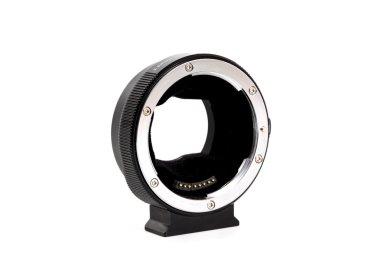 Lens Adapter on white background.