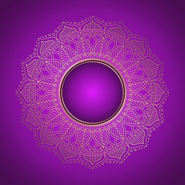 Mandala vector background