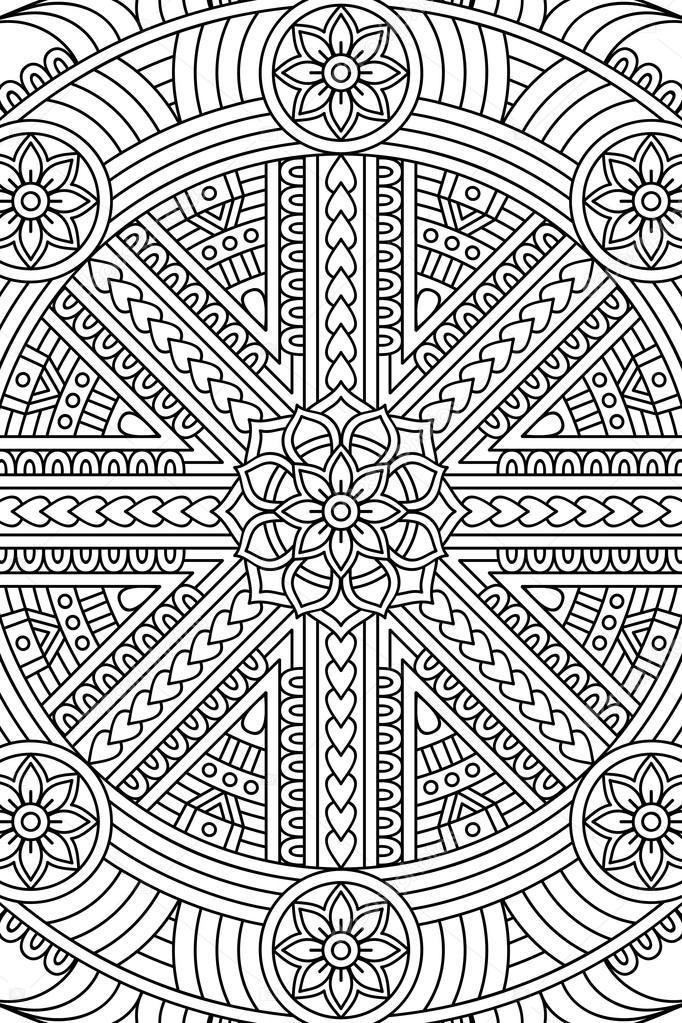 Erfreut Geometrische Kreis Malvorlagen Bilder - Beispiel ...