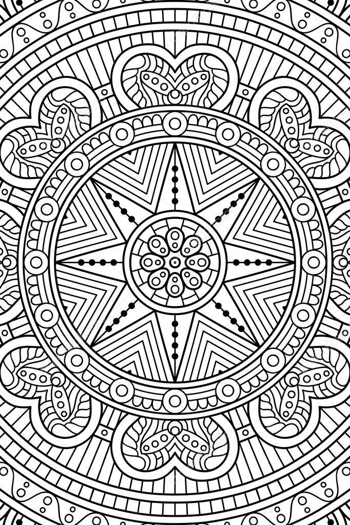 Niedlich Geometrische Kreis Malvorlagen Galerie - Beispiel ...