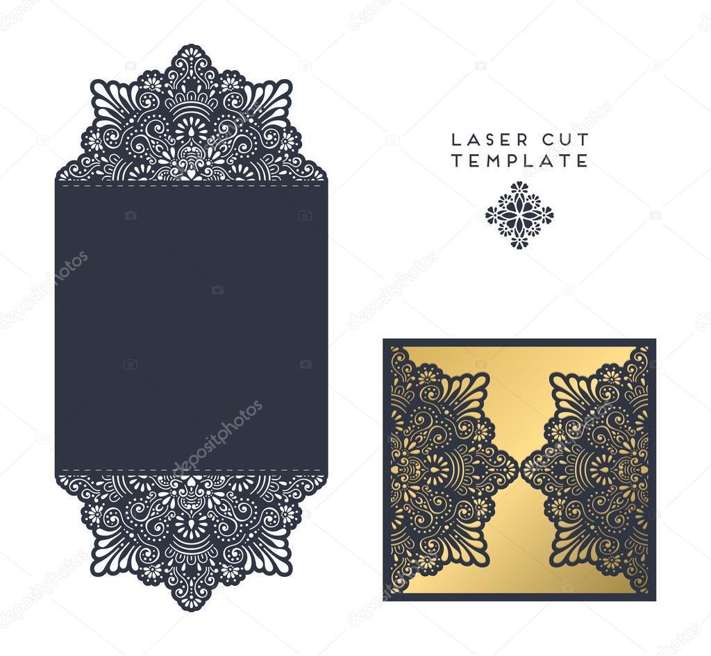 free laser cutter templates - laser cut template stock vector vikasnezh 122590928