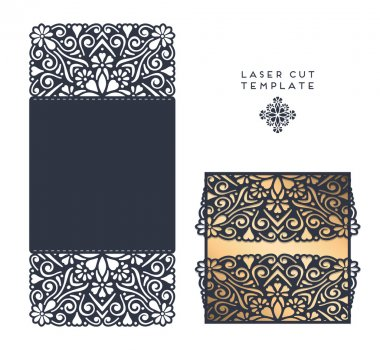laser cut template