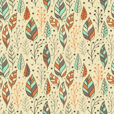 Indian seamless floral pattern. Vintage decorative elements. Hand drawn background. Islam, Arabic, Indian, ottoman motifs.
