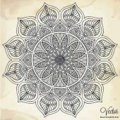 Photo Mandala. Round Ornament Pattern. Vintage decorative elements. Hand drawn background. Islam, Arabic, Indian, ottoman motifs.