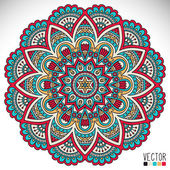 Photo Mandala Round Ornament