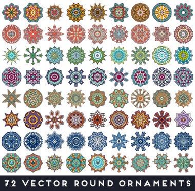 Vintage  Indian seamless pattern