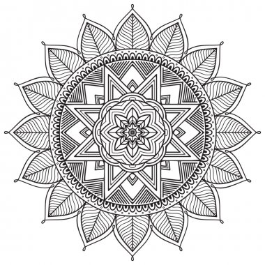 Vintage decorative ornament pattern