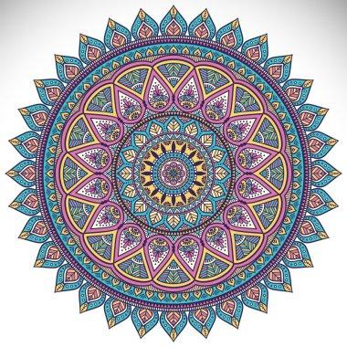 Ethnic decorative mandala