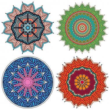 Mandalas. Round Ornament Pattern