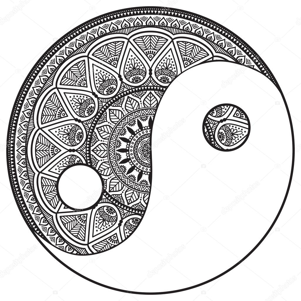 mandala runde muster ornament stockvektor vikasnezh 75193865. Black Bedroom Furniture Sets. Home Design Ideas