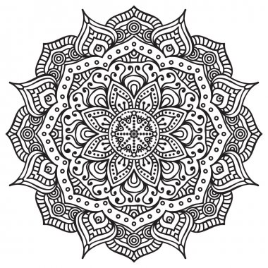 Beautiful  card with mandala