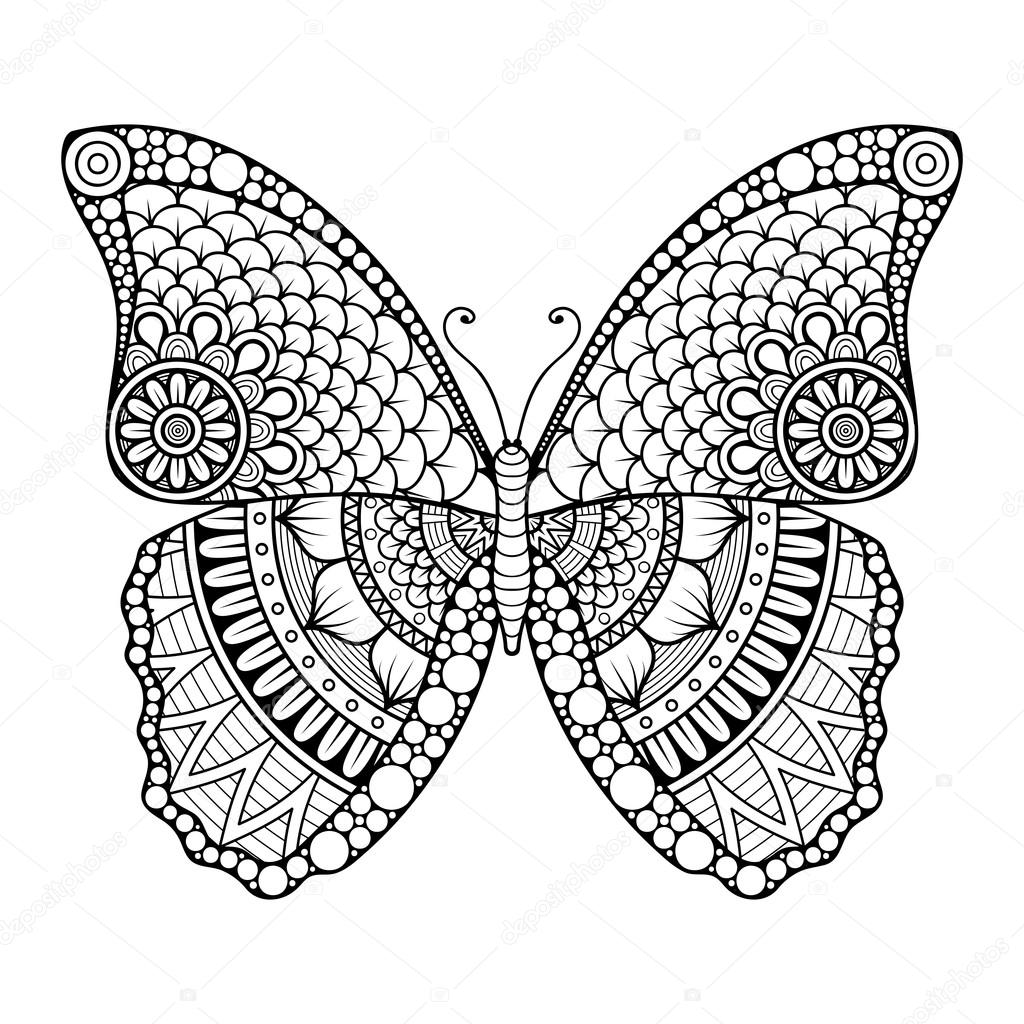 Vector abstract Butterfly