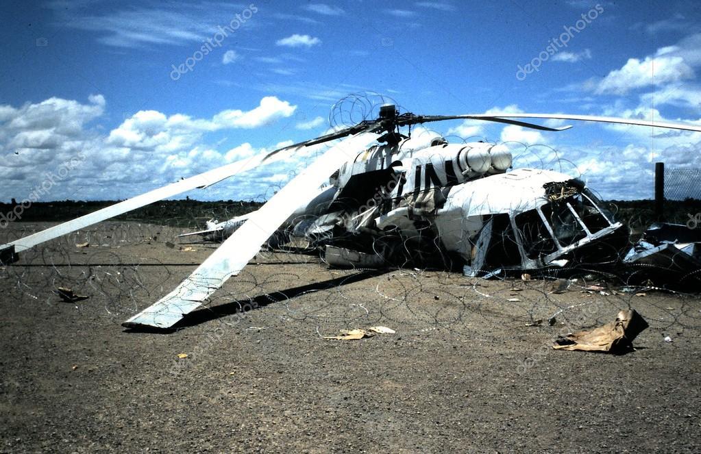 Helikopter kraschade