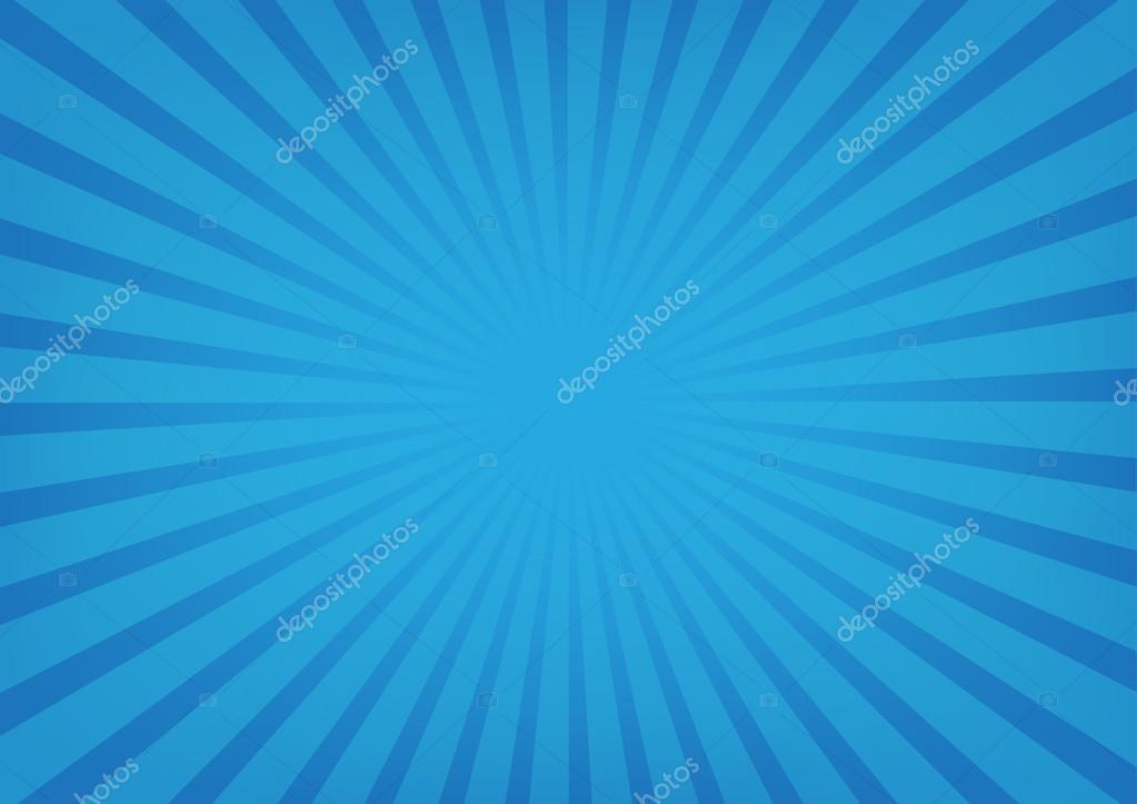 El Sol Los Rayos Vectores, Sunburst Sobre Fondo De Color