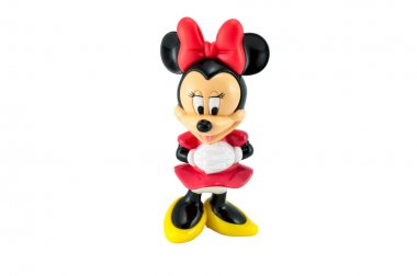 Minnie Mouse isolated on white