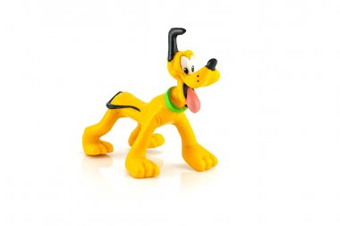 Pluto dog figure toy model character from Disney  Mickey mouse a