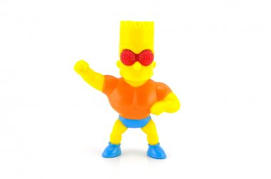Bart Simpson figure toy character from The Simpsons family