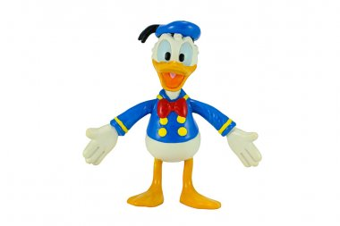 Donald Duck from Mickey mouse and friends cartoon animation.